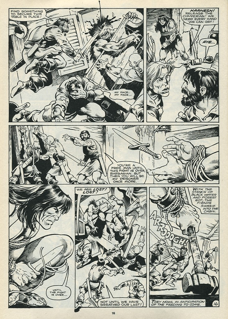 The Savage Sword Of Conan Issue #172 #173 - English 18