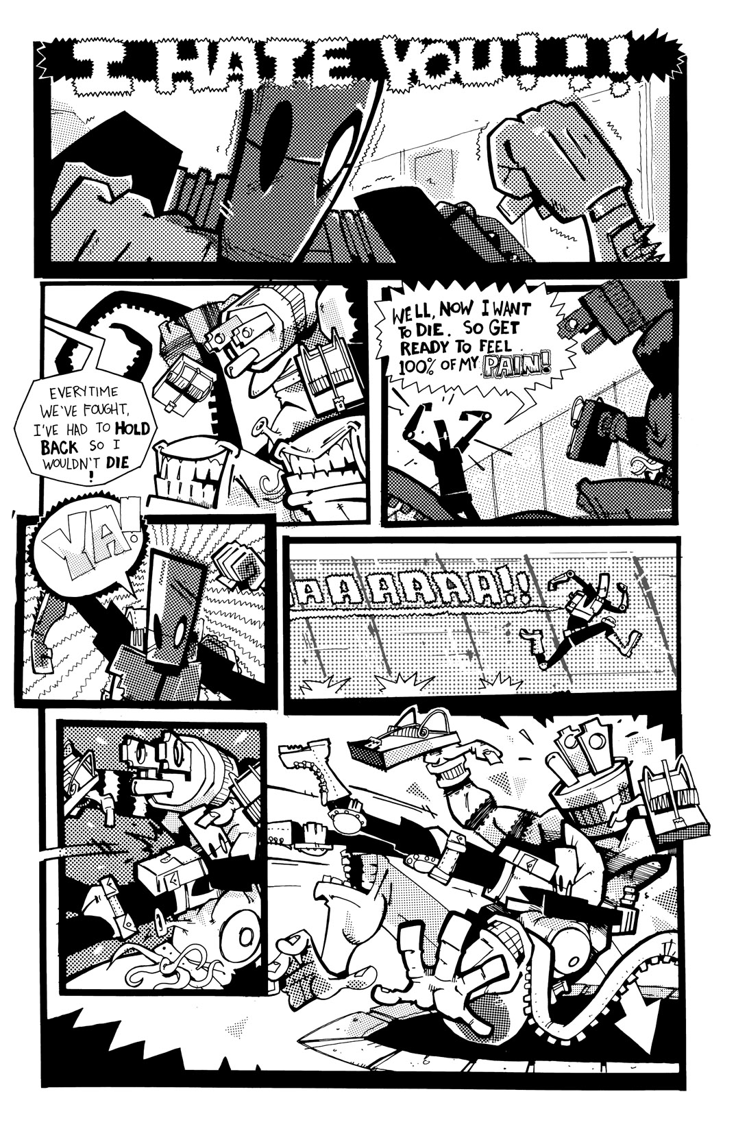 Read online Scud: The Disposable Assassin: The Whole Shebang comic -  Issue # TPB (Part 4) - 87