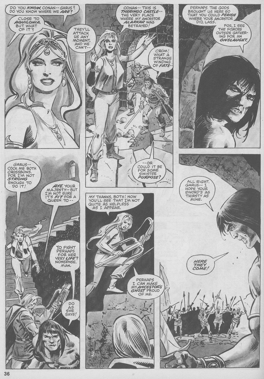 The Savage Sword Of Conan Issue #44 #45 - English 36