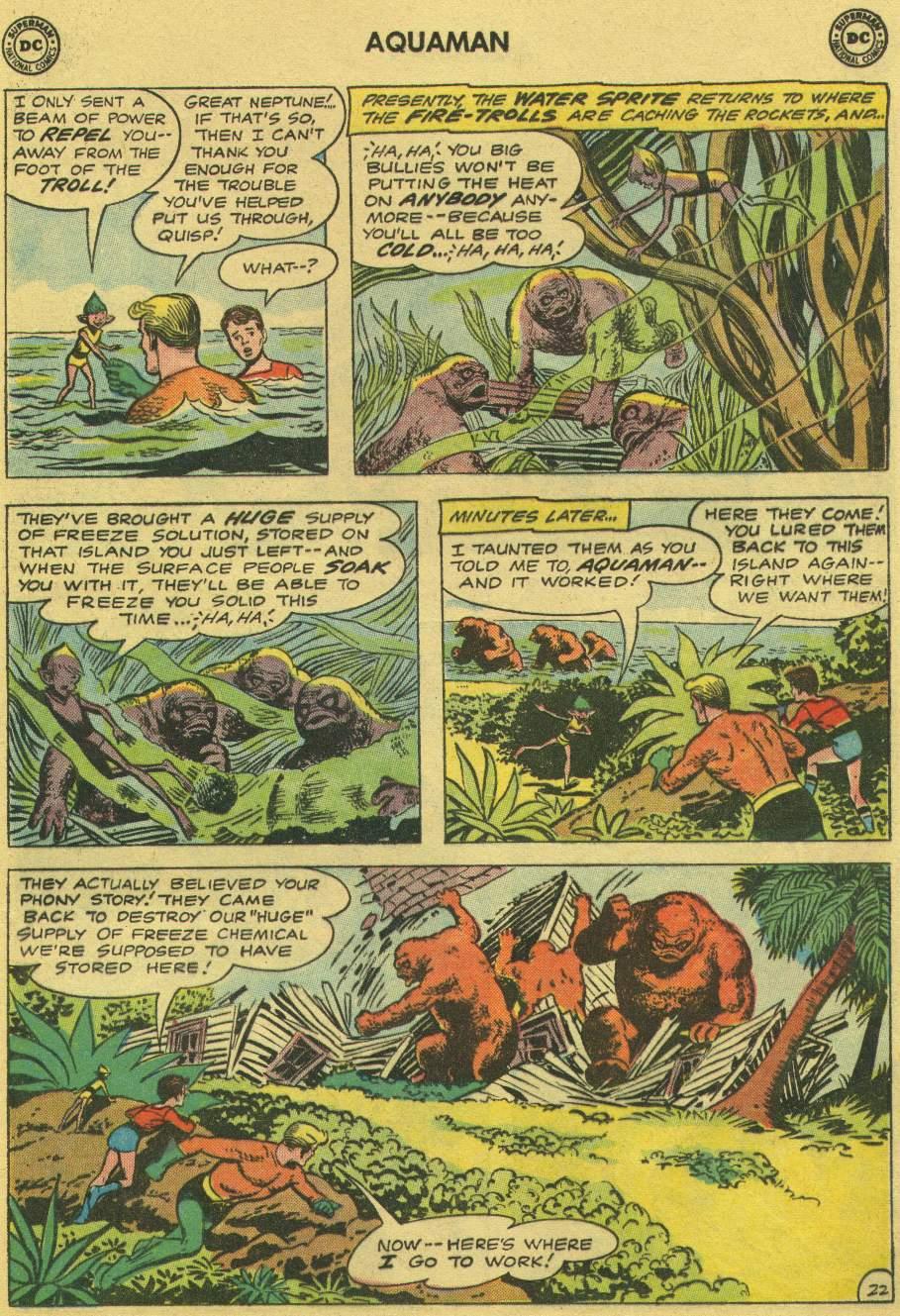 Read online Aquaman (1962) comic -  Issue #1 - 29