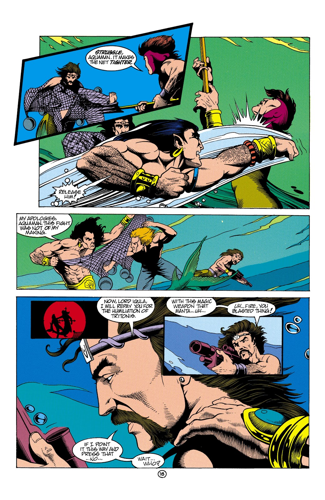 Aquaman (1991) Issue #5 #5 - English 19