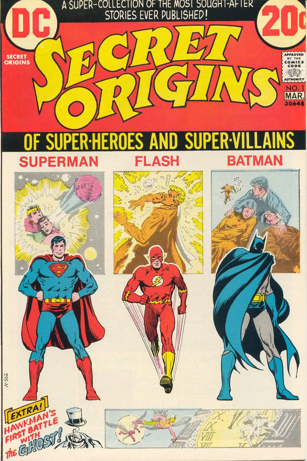 Read online Secret Origins (1973) comic -  Issue #1 - 1