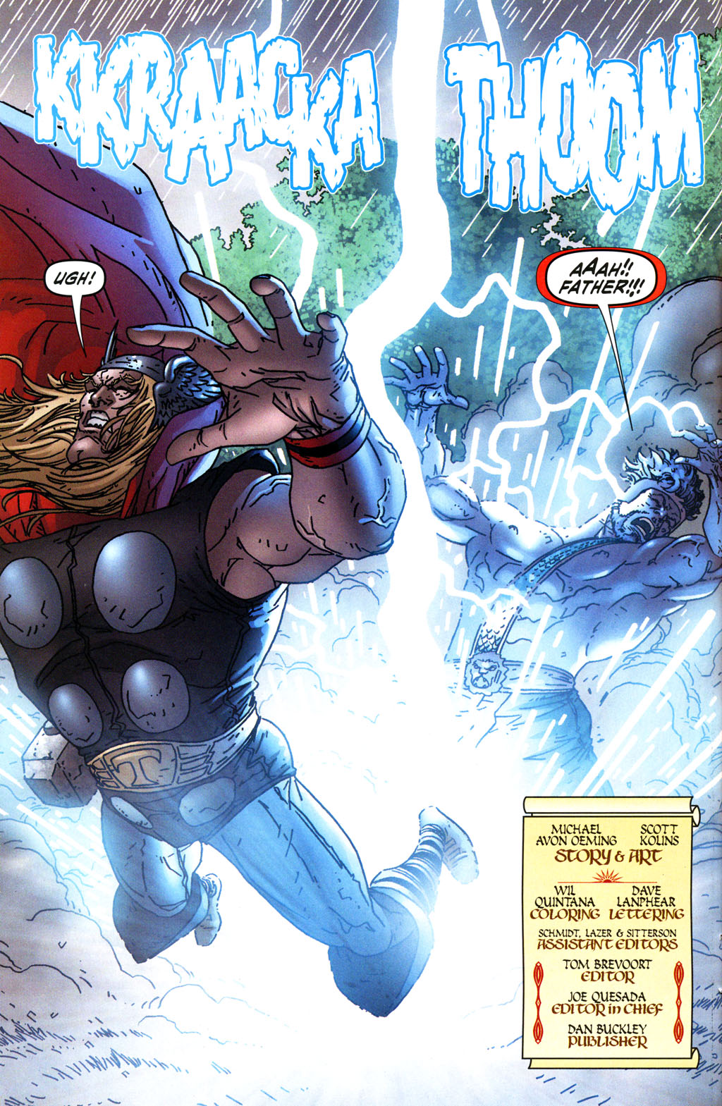 Read online Thor: Blood Oath comic -  Issue #4 - 4