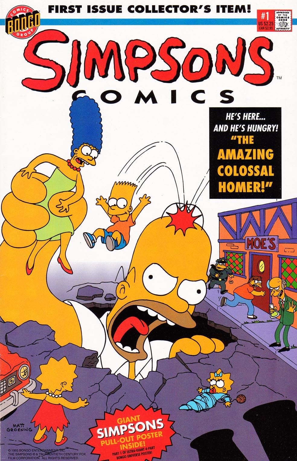 Read online Simpsons Comics comic -  Issue #1 - 1