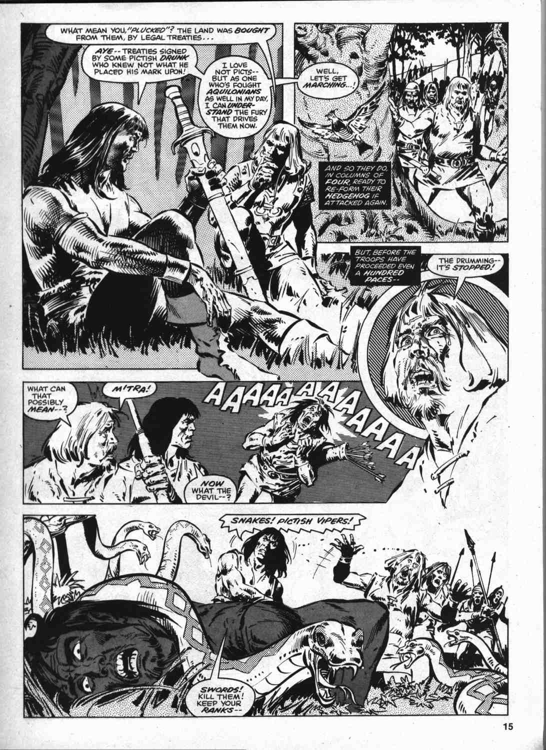 The Savage Sword Of Conan Issue #46 #47 - English 14