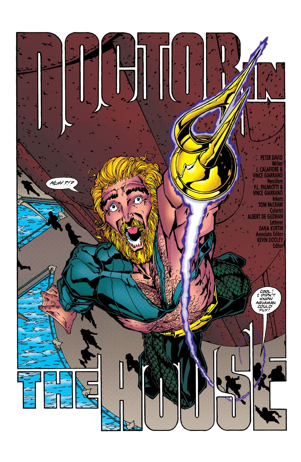 Aquaman (1994) Issue #40 #46 - English 4