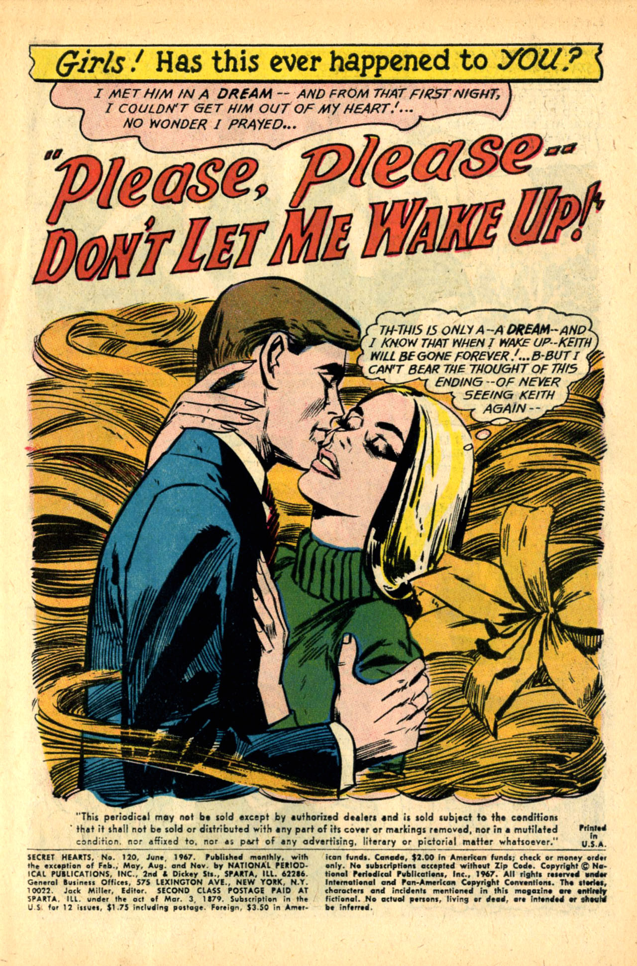 Read online Secret Hearts comic -  Issue #120 - 3