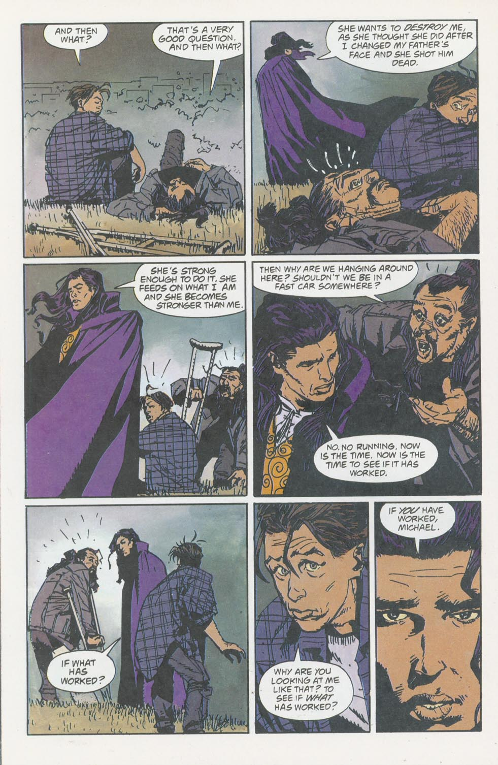 Read online Enigma comic -  Issue #8 - 21