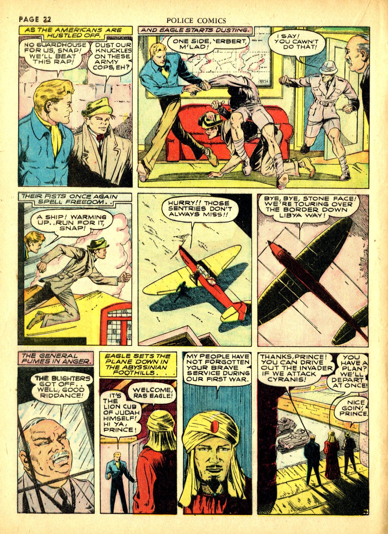 Police Comics #1 #127 - English 25