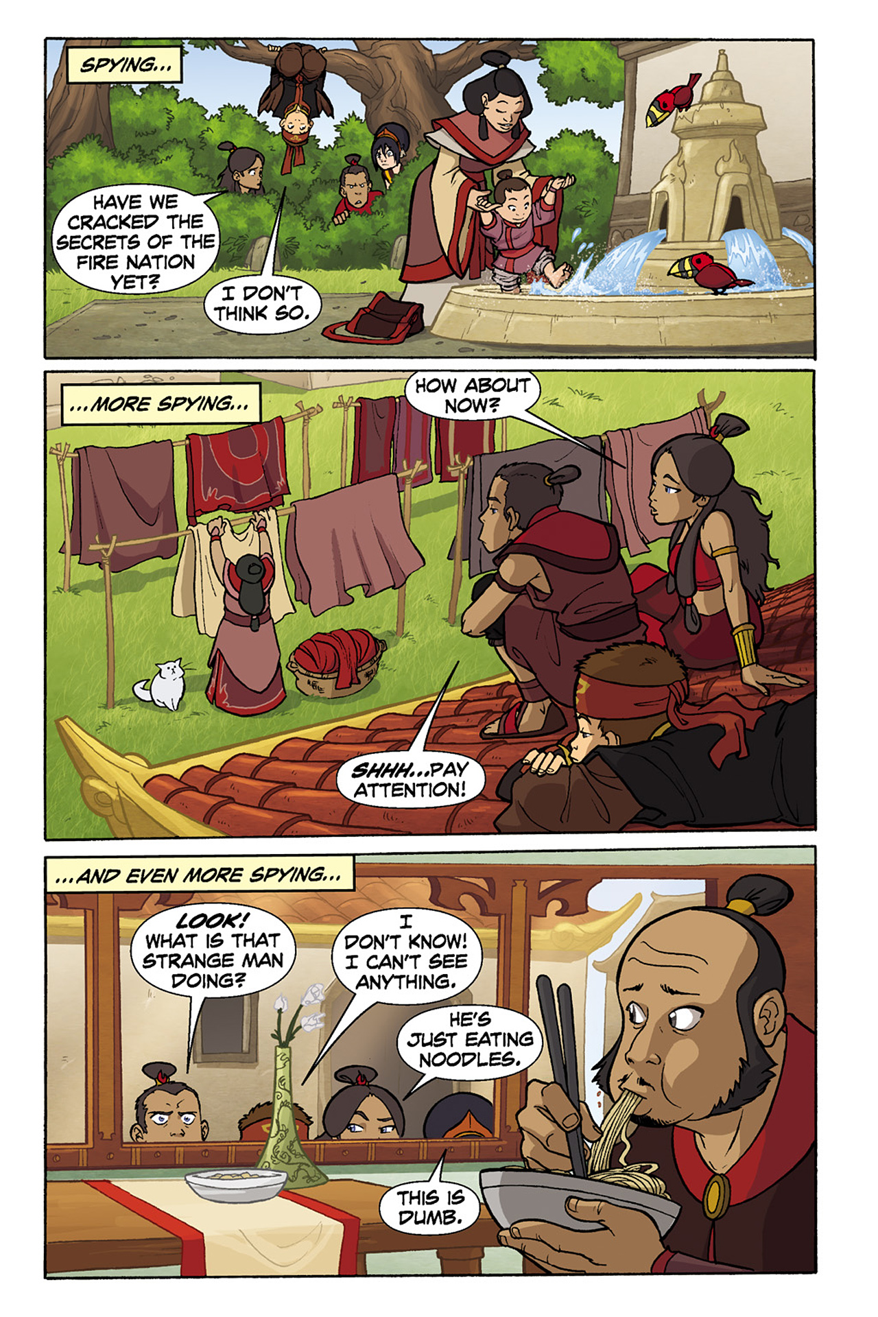 Nickelodeon Avatar: The Last Airbender - The Lost Adventures chap full pic 119