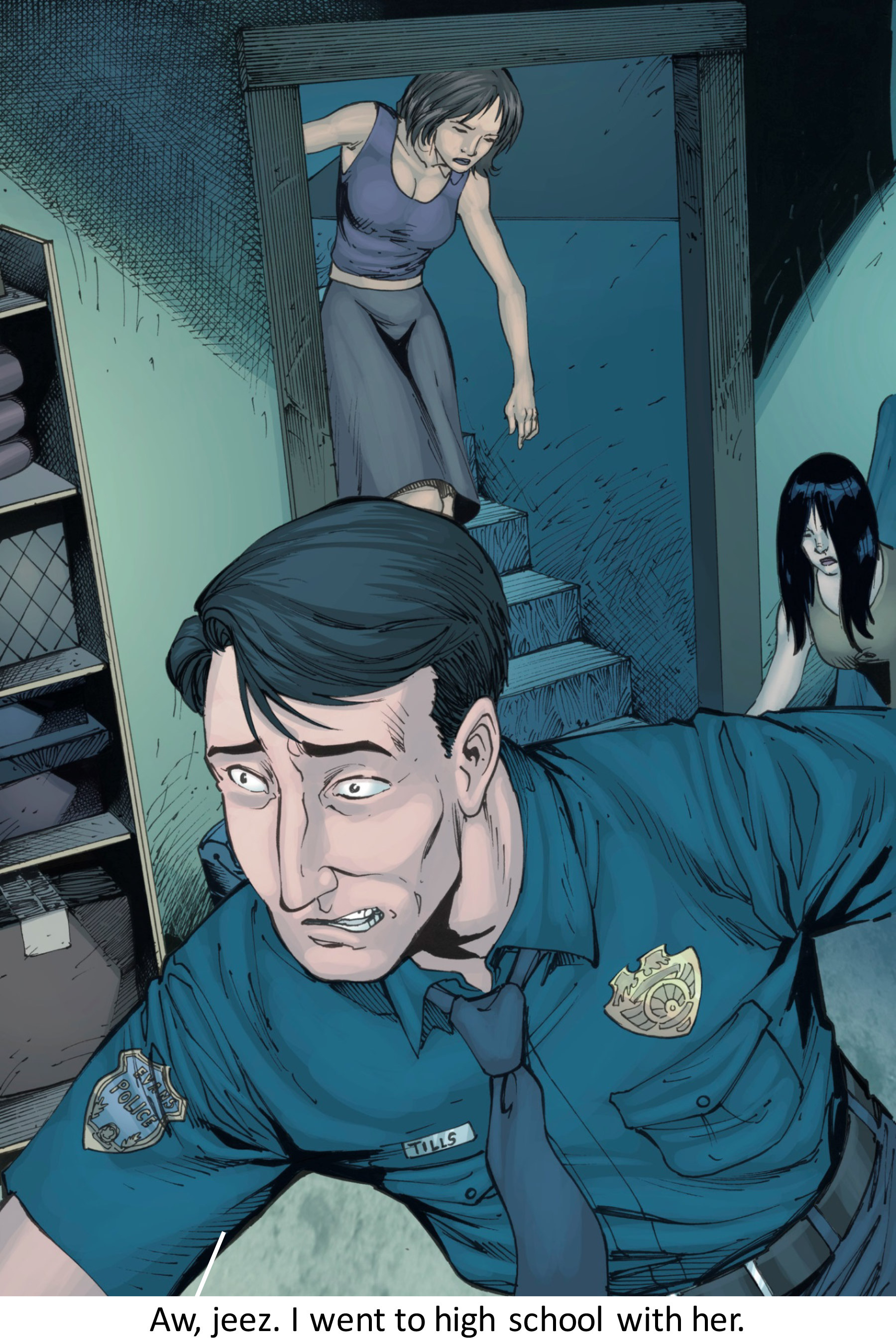 Read online Z-Men comic -  Issue #3 - 102