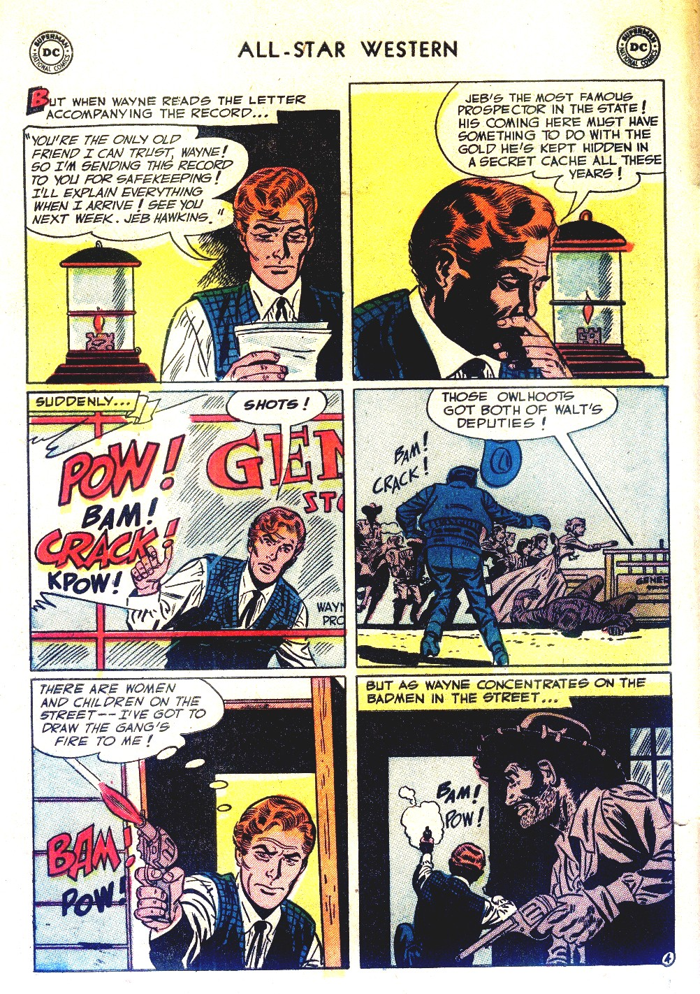 Read online All-Star Western (1951) comic -  Issue #66 - 6
