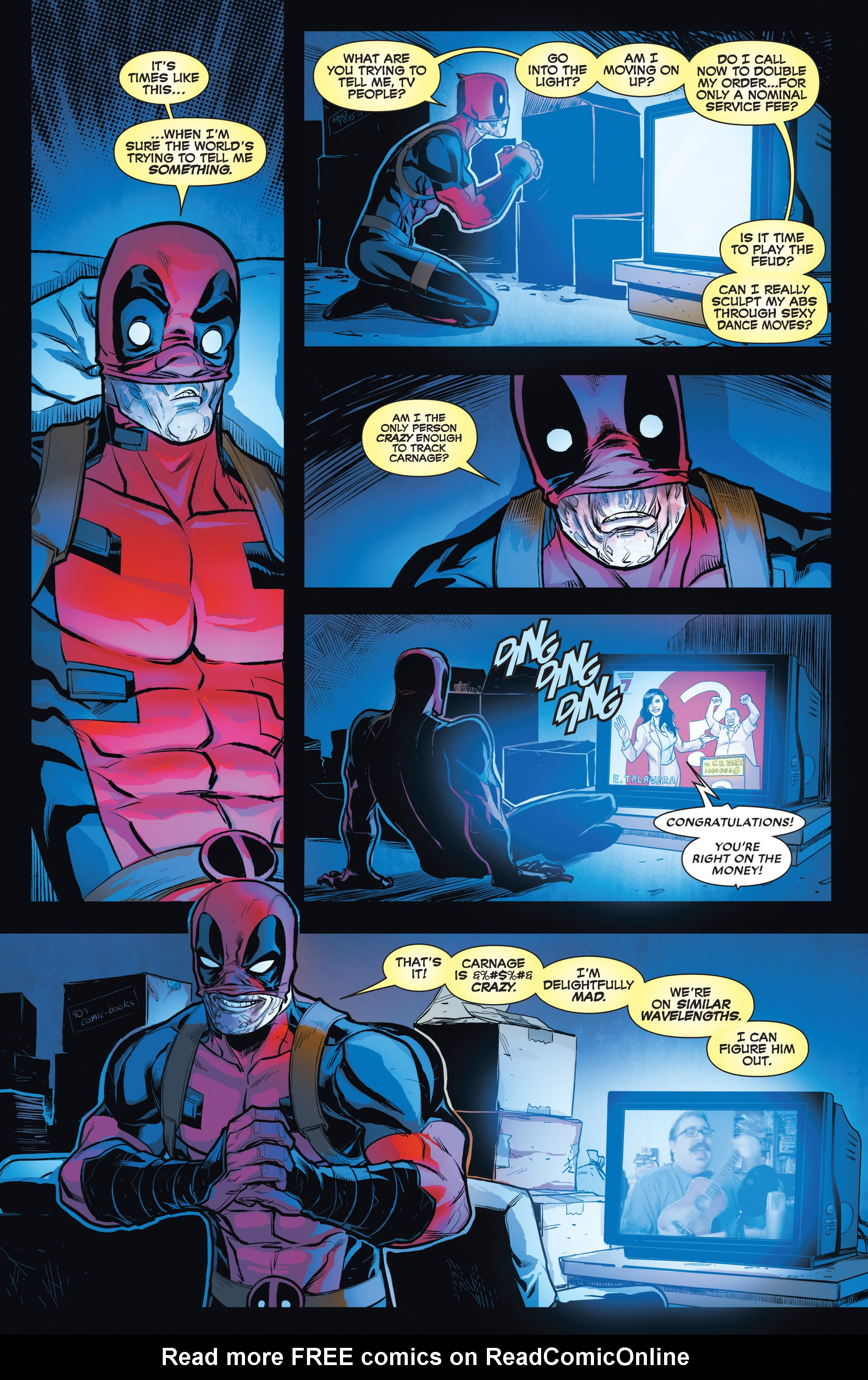 Read online Deadpool vs. Carnage comic -  Issue #1 - 8