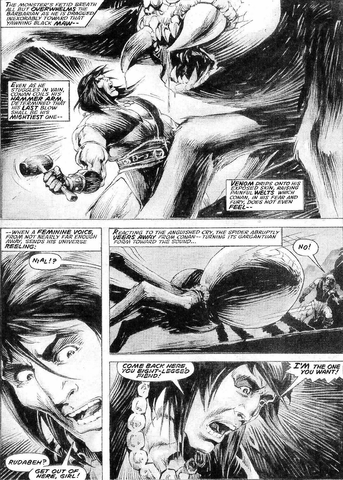 The Savage Sword Of Conan Issue #210 #211 - English 24
