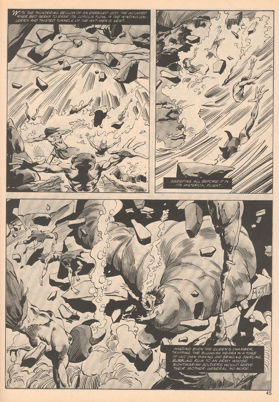 The Savage Sword Of Conan Issue #70 #71 - English 45