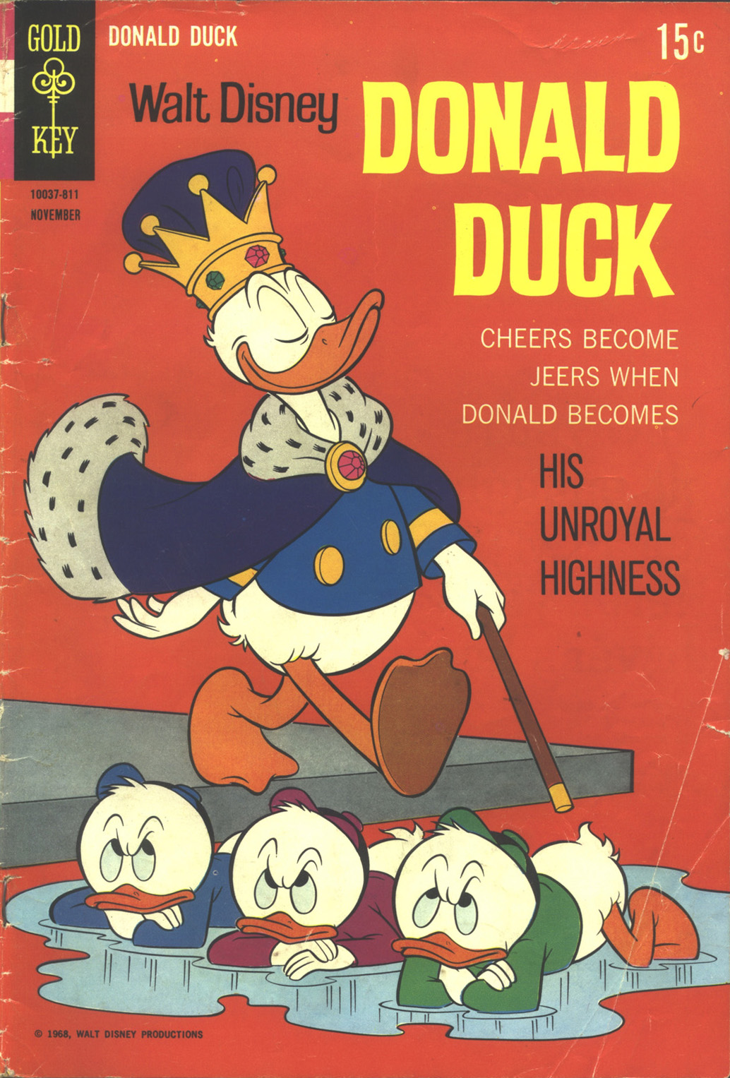 Donald Duck (1962) 122 Page 1