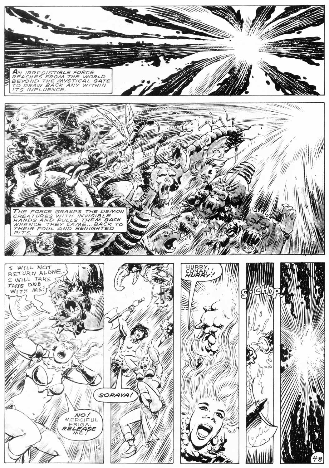 The Savage Sword Of Conan Issue #154 #155 - English 48