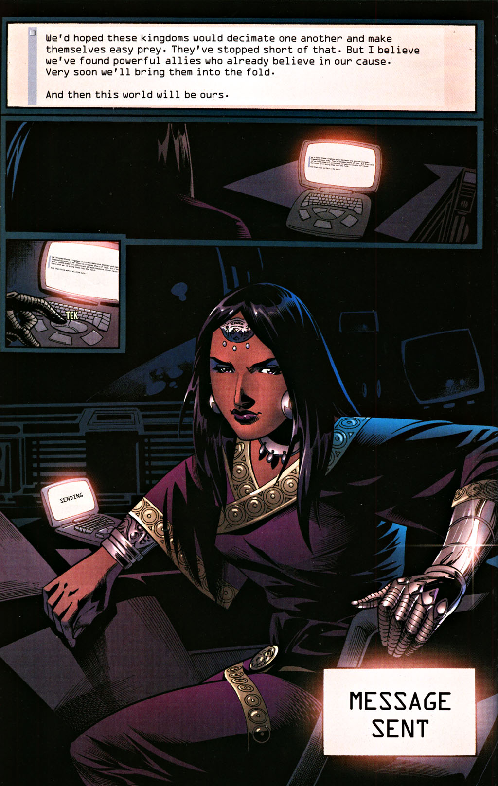 Read online Scion comic -  Issue #28 - 18