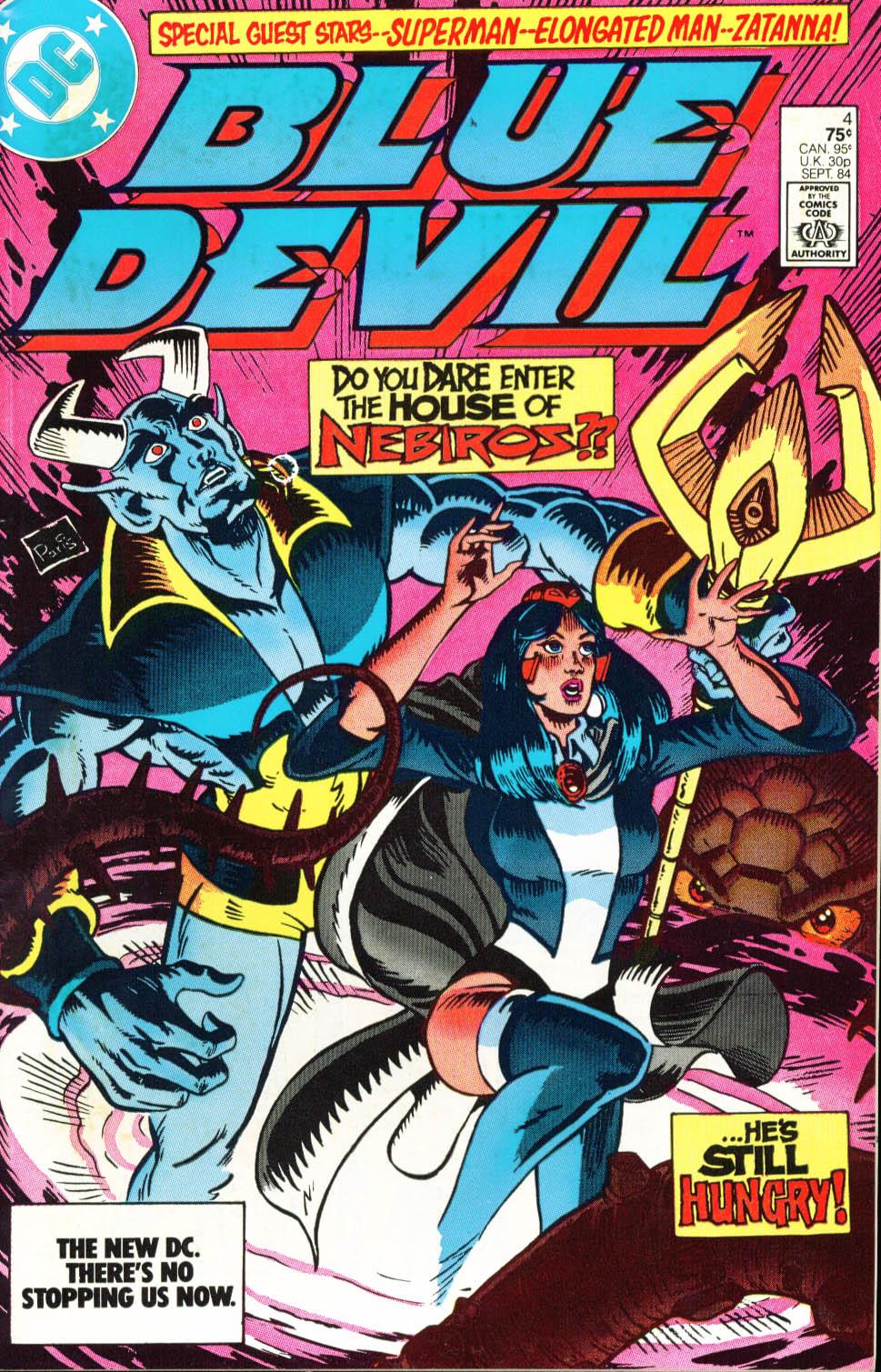 Blue Devil 4 Page 1