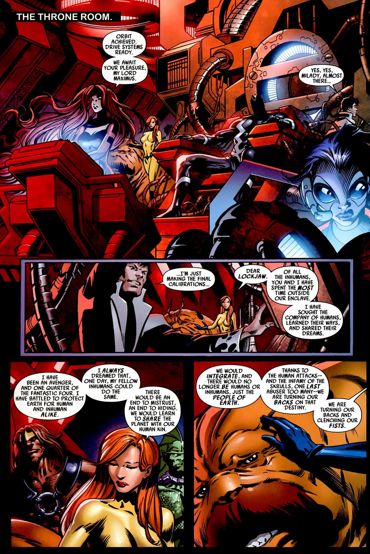 Read online Secret Invasion: War of Kings comic -  Issue # Full - 16