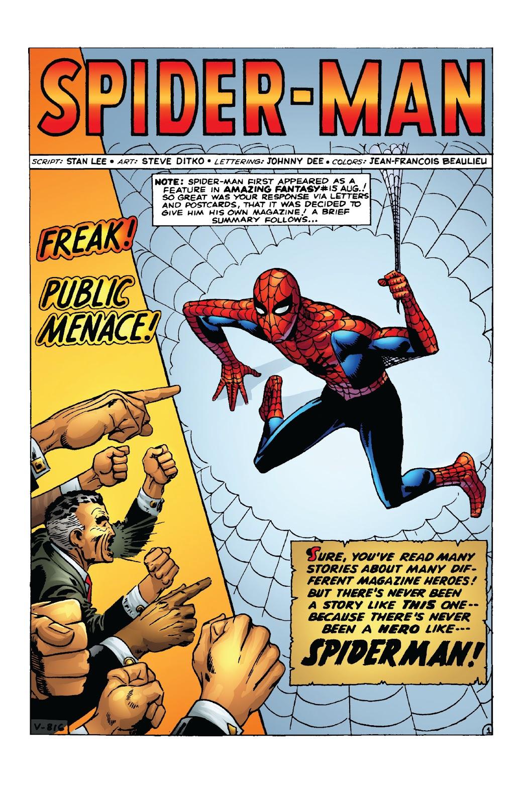 Amazing Fantasy #15: Spider-Man! Full #1 - English 16