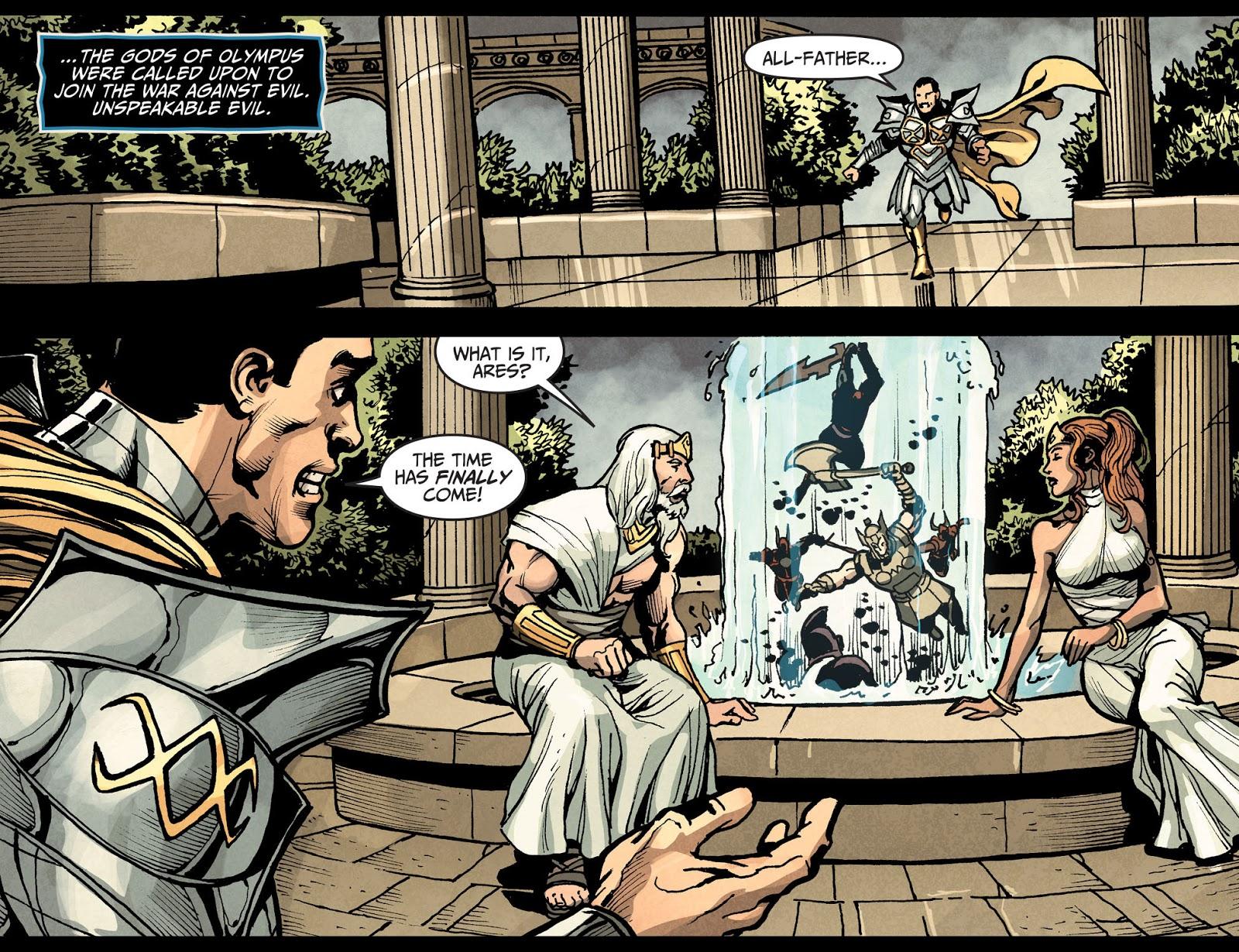 Injustice: Gods Among Us Year Four Issue #16 #17 - English 8