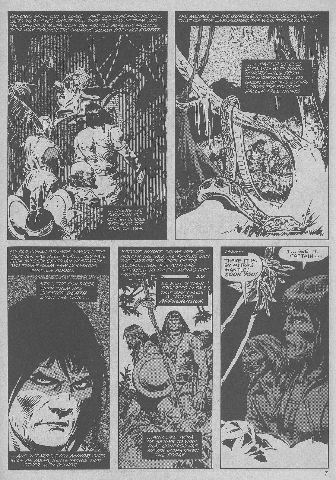 The Savage Sword Of Conan Issue #45 #46 - English 7