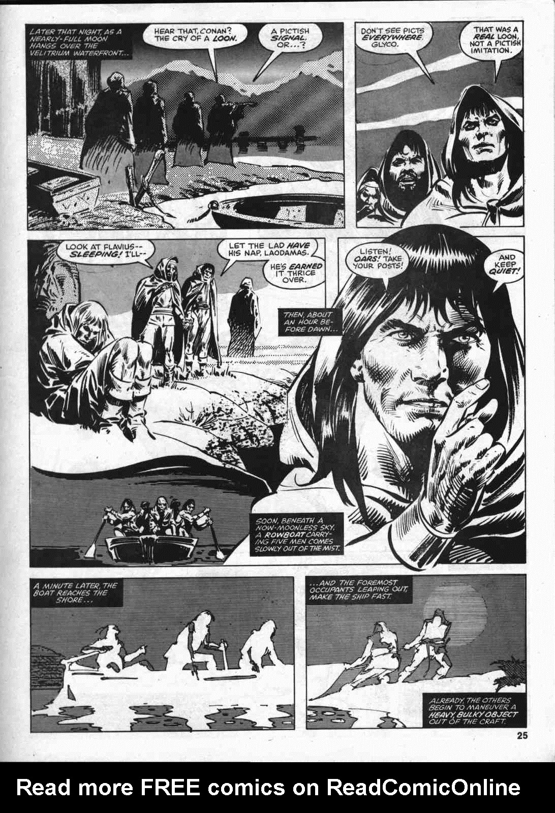 The Savage Sword Of Conan Issue #46 #47 - English 24