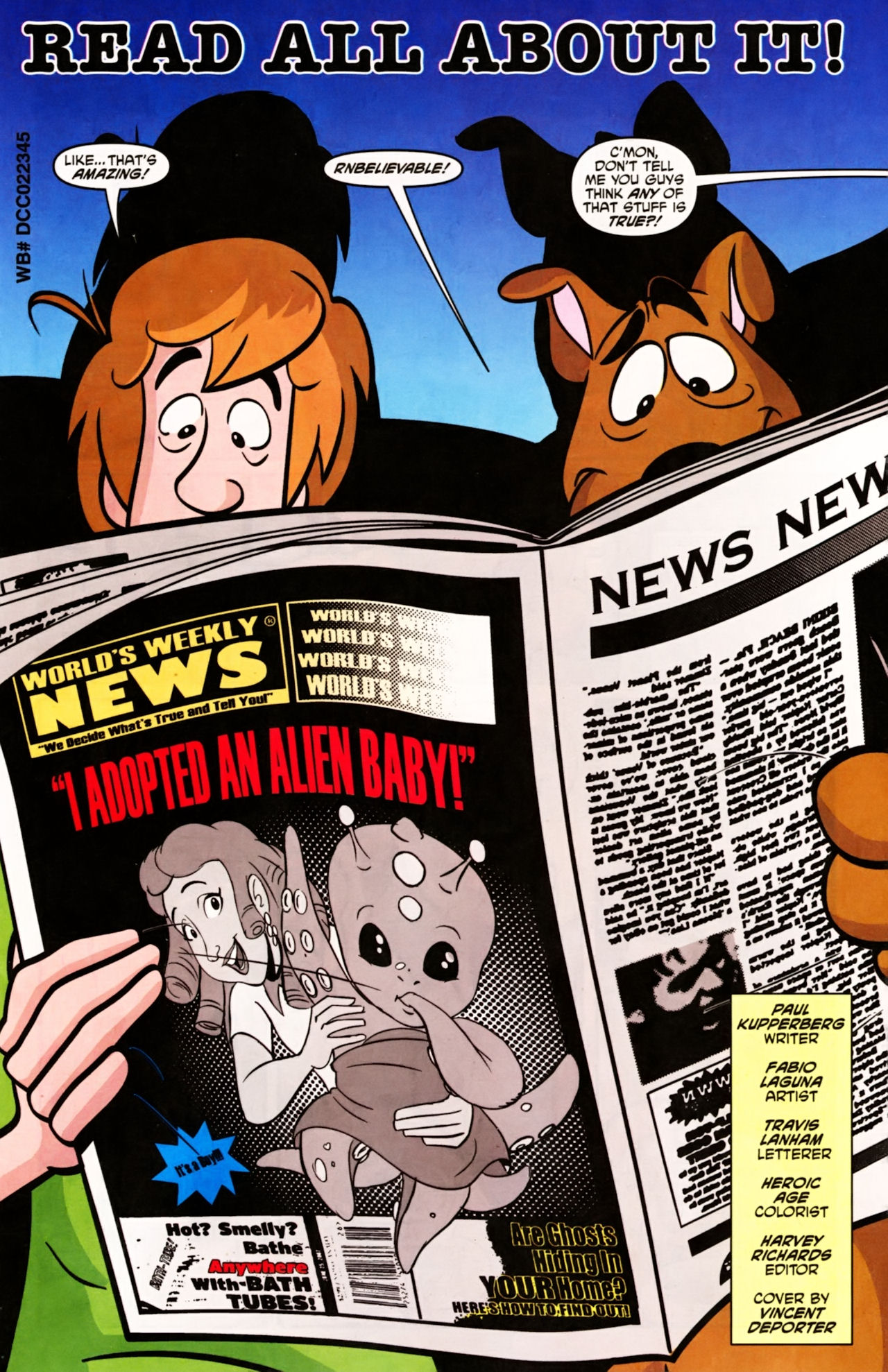 Read online Scooby-Doo (1997) comic -  Issue #156 - 2