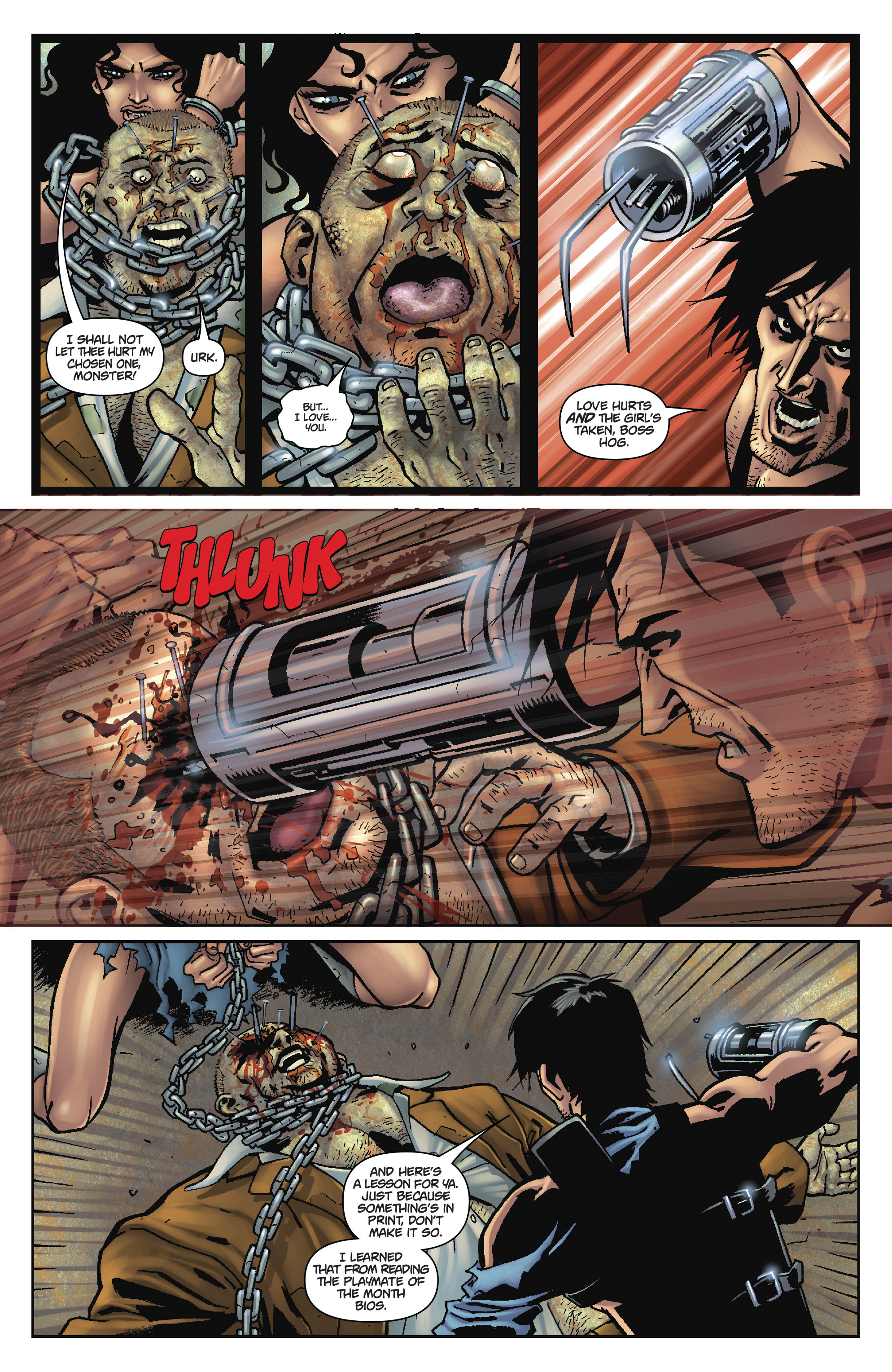 Army of Darkness: The Long Road Home TPB Page 91