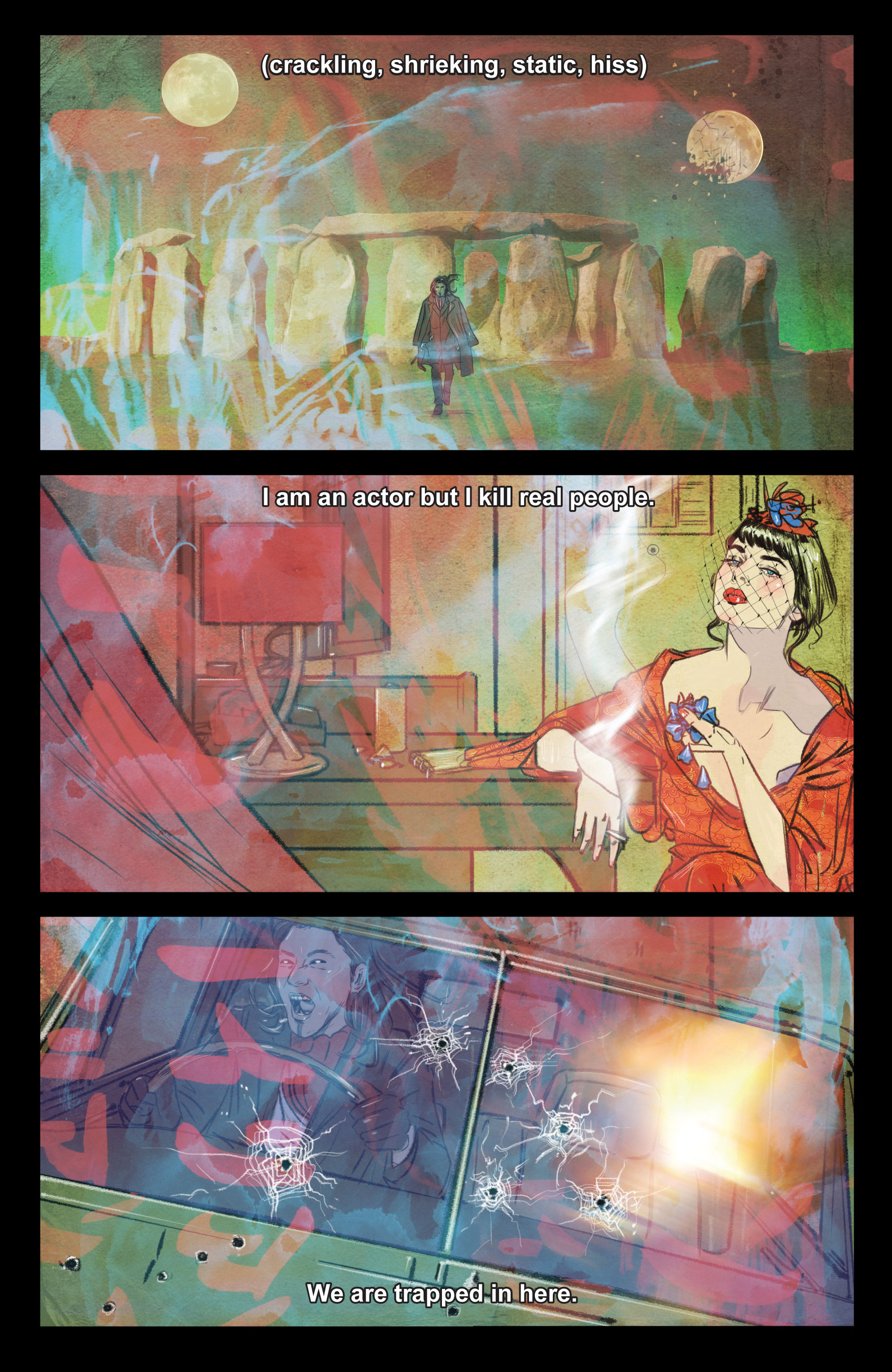 Read online Supreme Blue Rose comic -  Issue #4 - 17