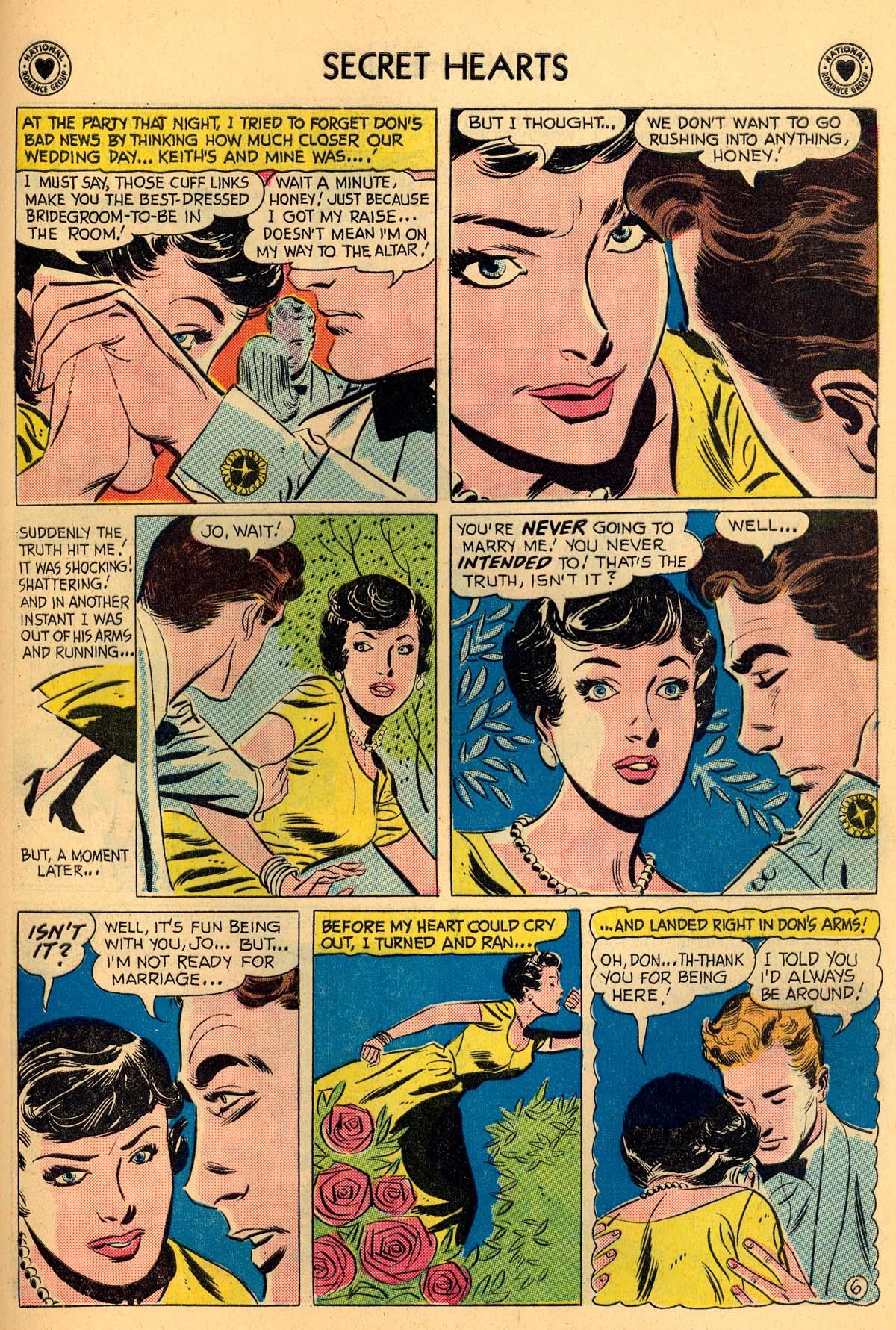 Read online Secret Hearts comic -  Issue #55 - 25
