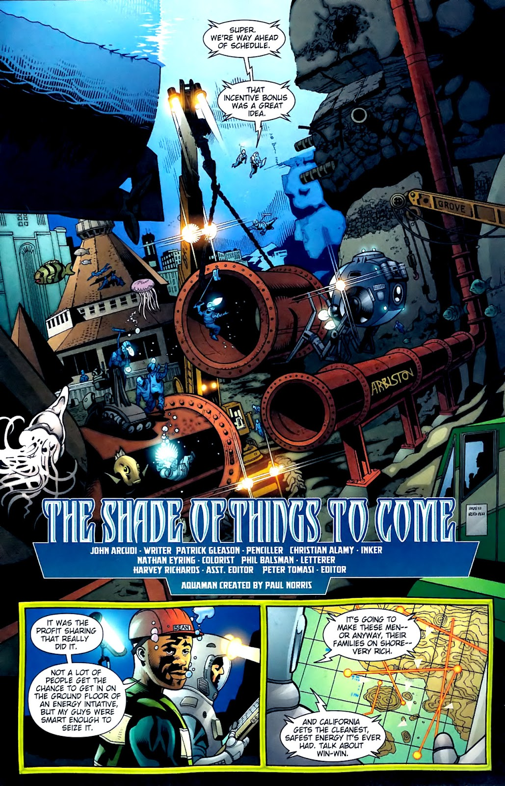 Aquaman (2003) Issue #32 #32 - English 2