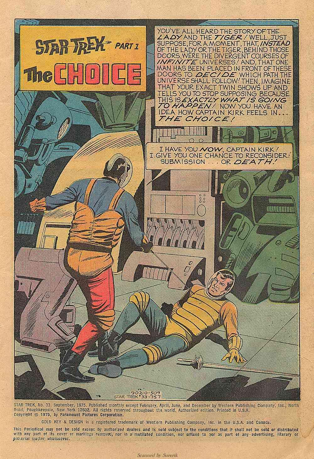 Star Trek (1967) Issue #33 #33 - English 2