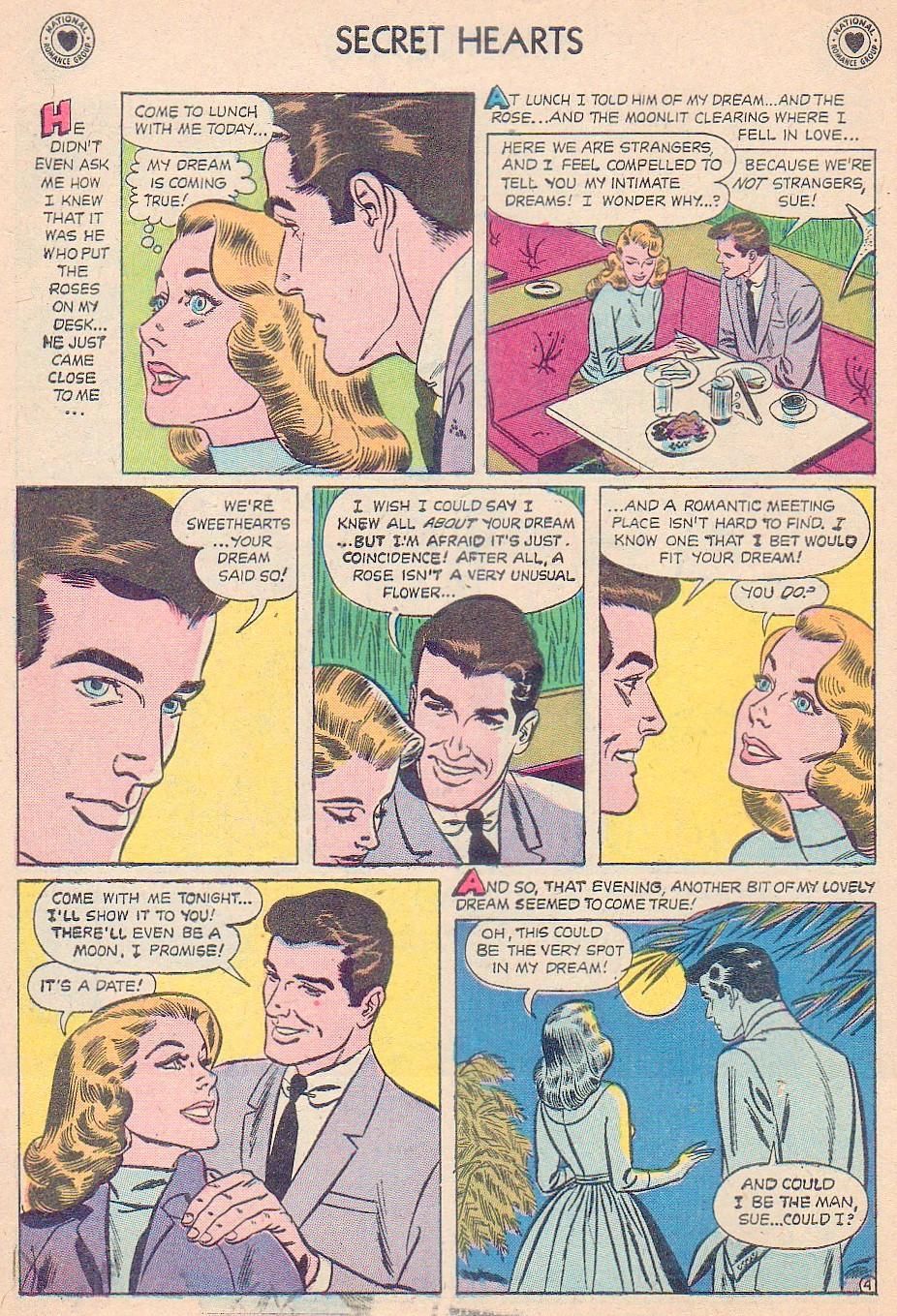 Read online Secret Hearts comic -  Issue #44 - 6