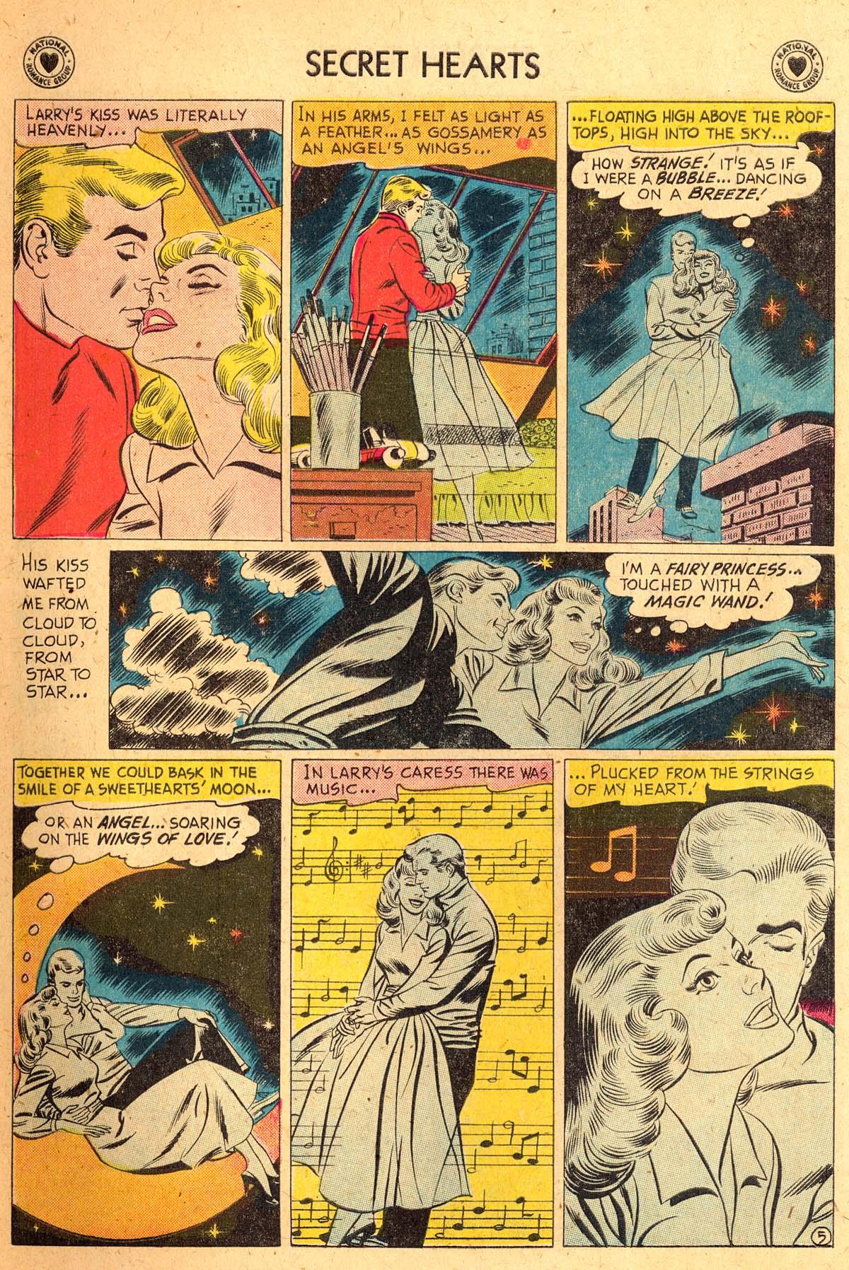 Read online Secret Hearts comic -  Issue #52 - 7