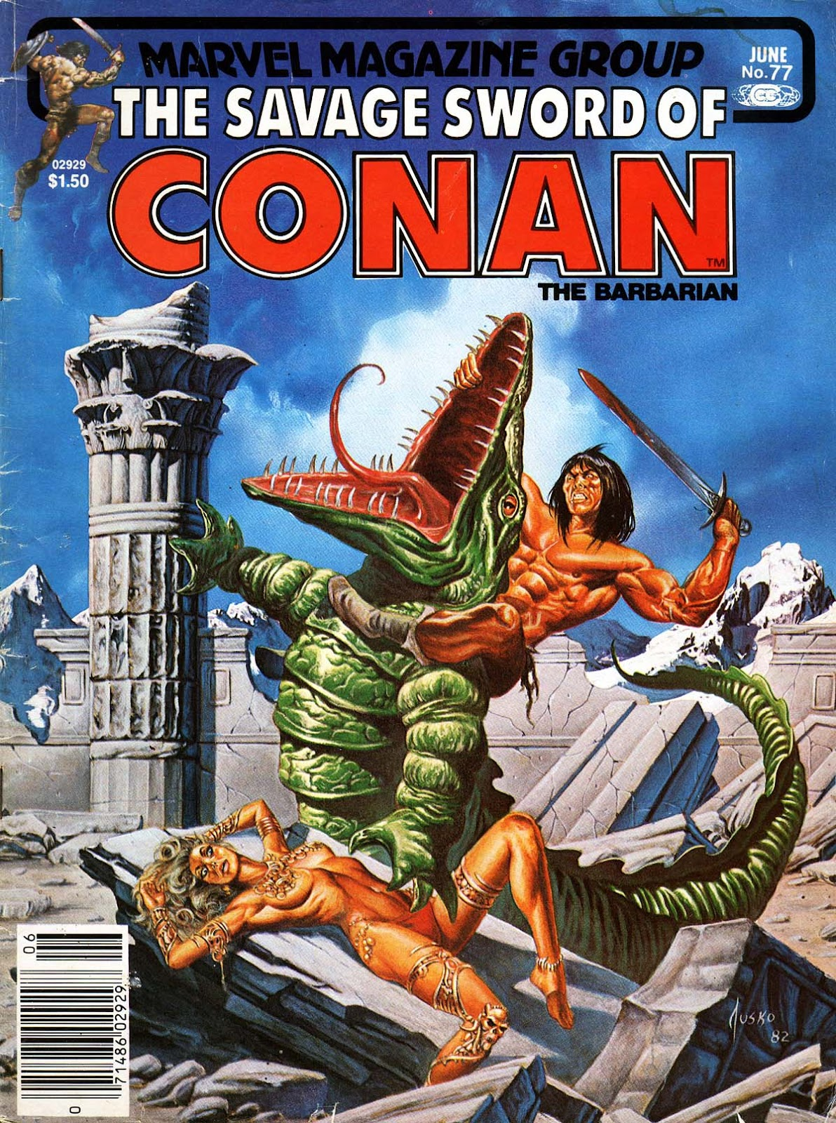 The Savage Sword Of Conan Issue #77 #78 - English 1