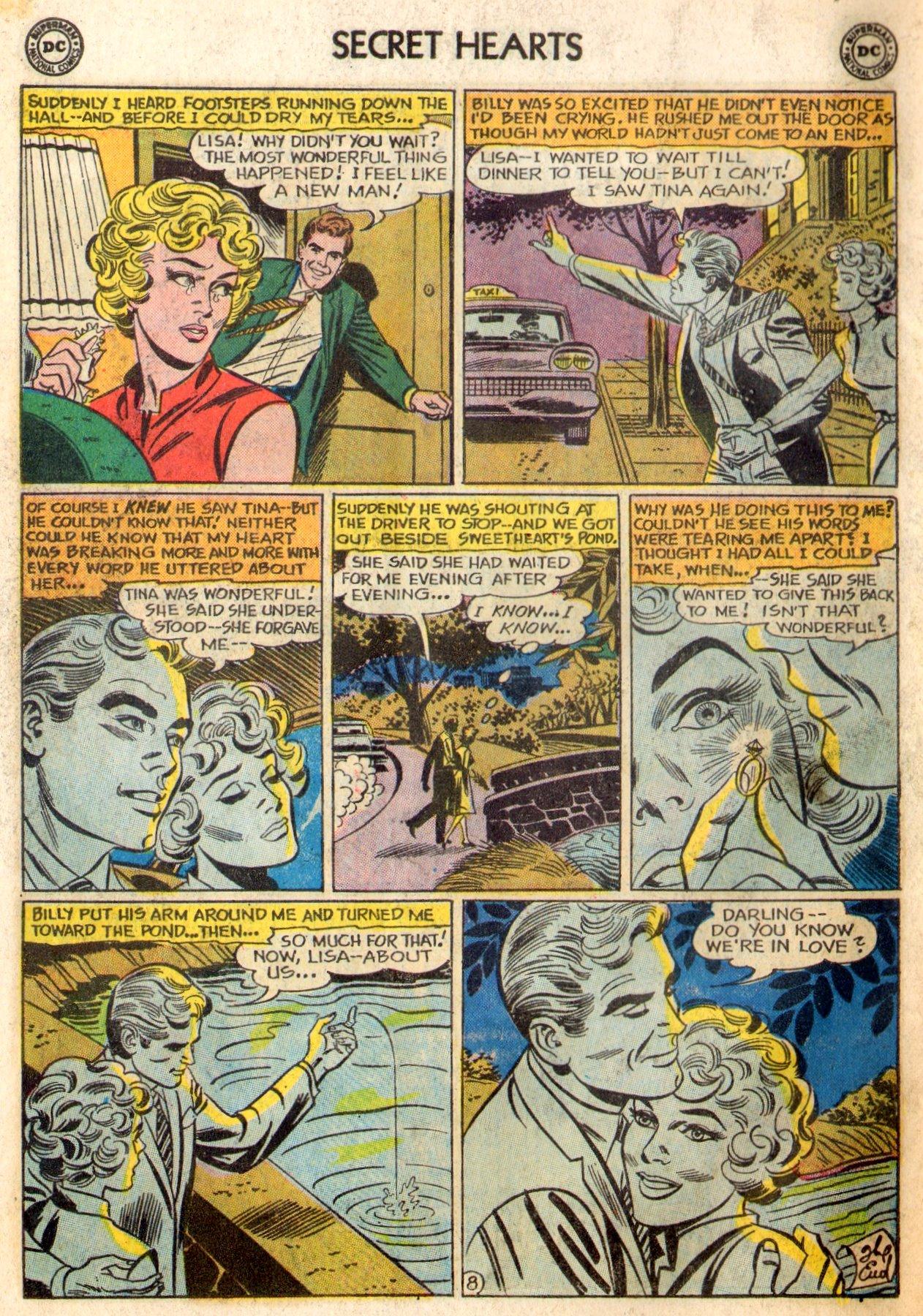 Read online Secret Hearts comic -  Issue #84 - 34