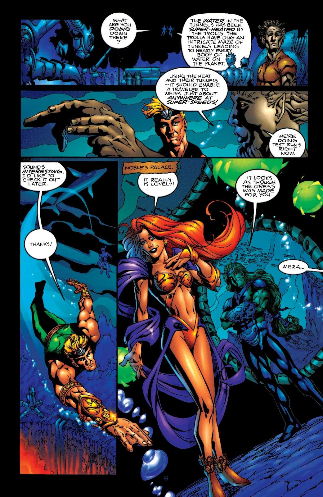 Aquaman (1994) Issue #55 #61 - English 10