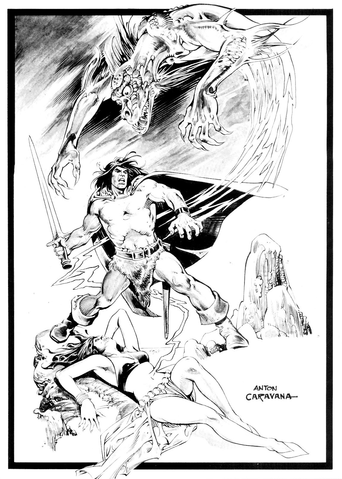The Savage Sword Of Conan Issue #40 #41 - English 2