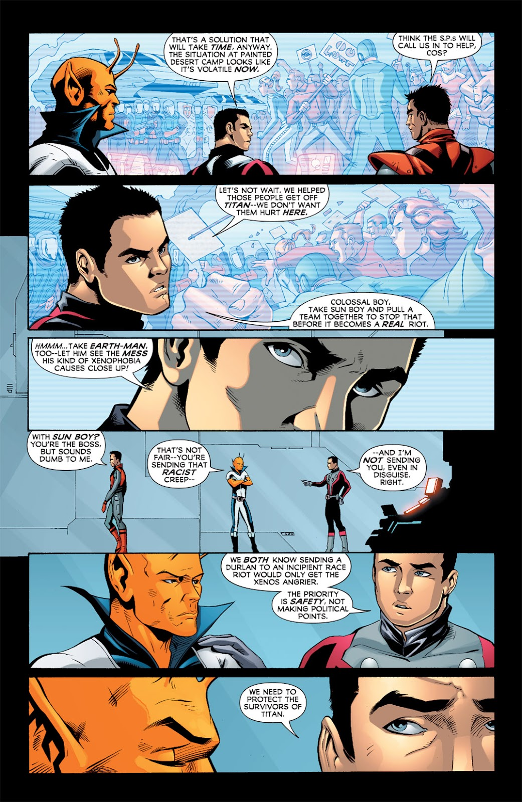 Legion of Super-Heroes (2010) Issue #2 #3 - English 13