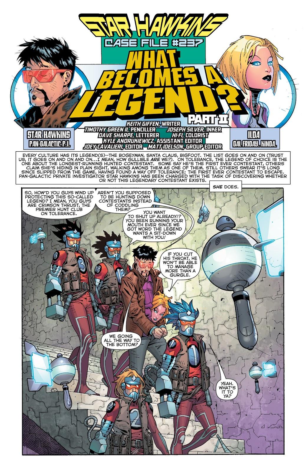 Threshold (2013) Issue #7 #7 - English 22