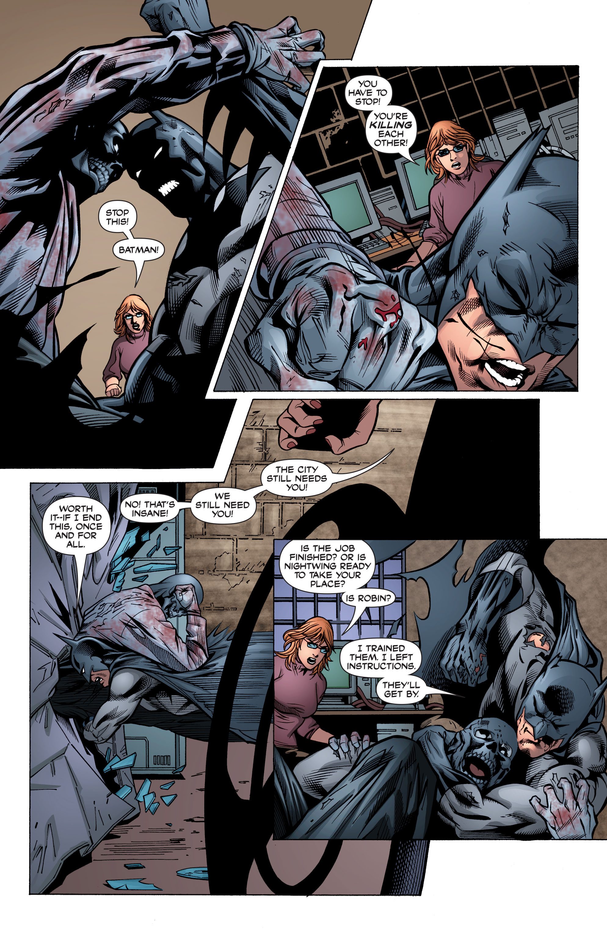 Read online Batman: War Games comic -  Issue #8 - 15