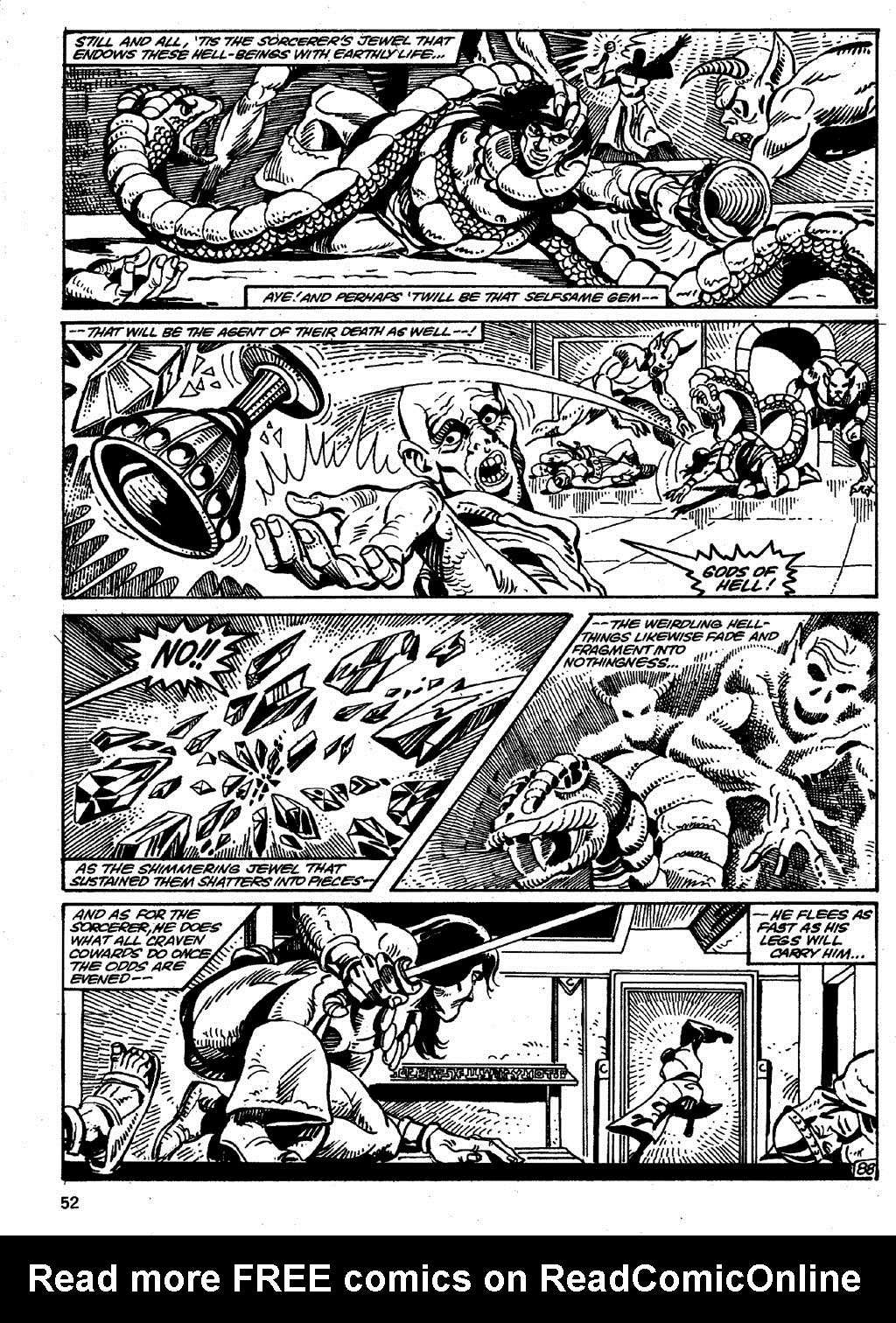 The Savage Sword Of Conan Issue #86 #87 - English 52