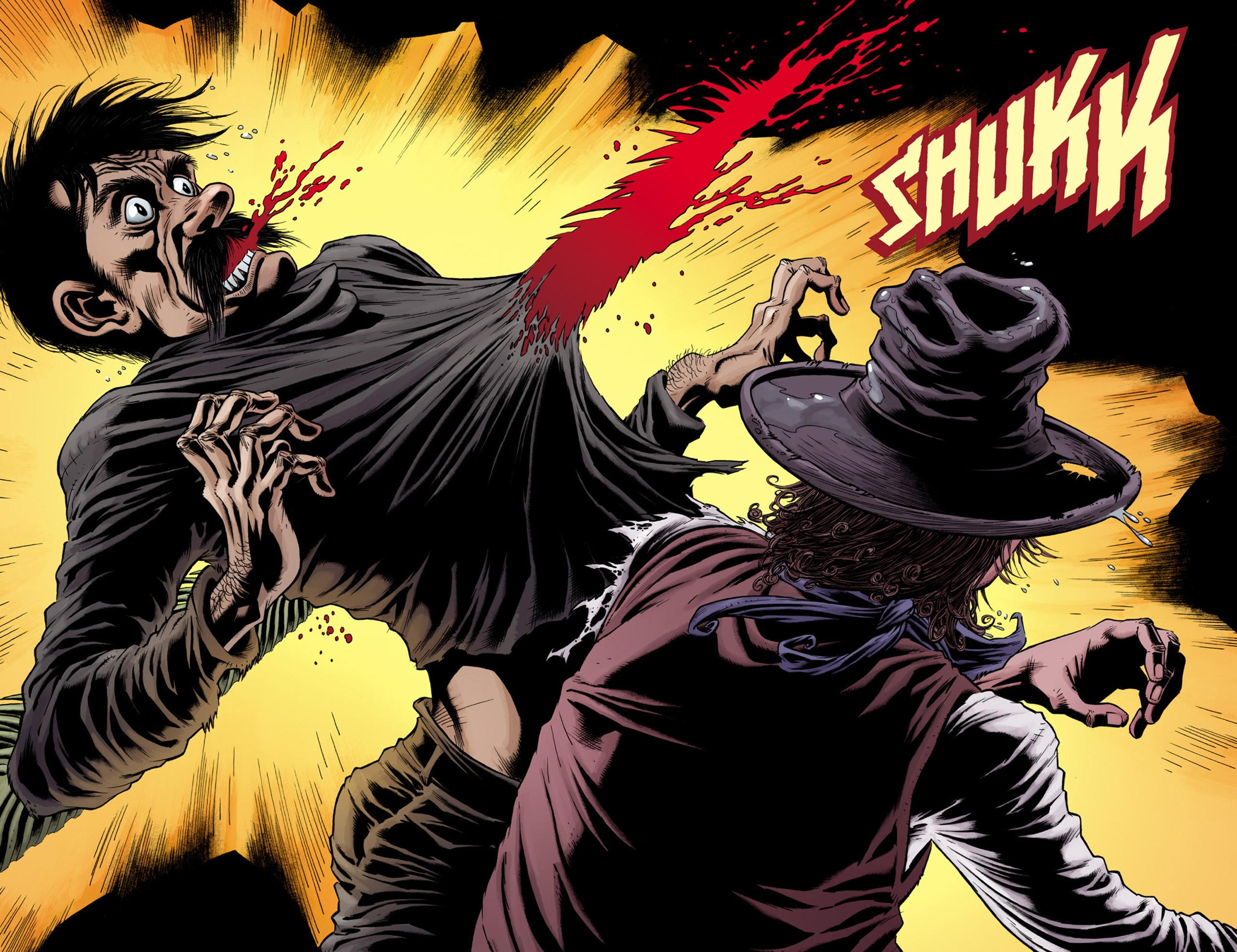 Read online Billy the Kid's Old Timey Oddities and the Orm of Loch Ness comic -  Issue #3 - 16