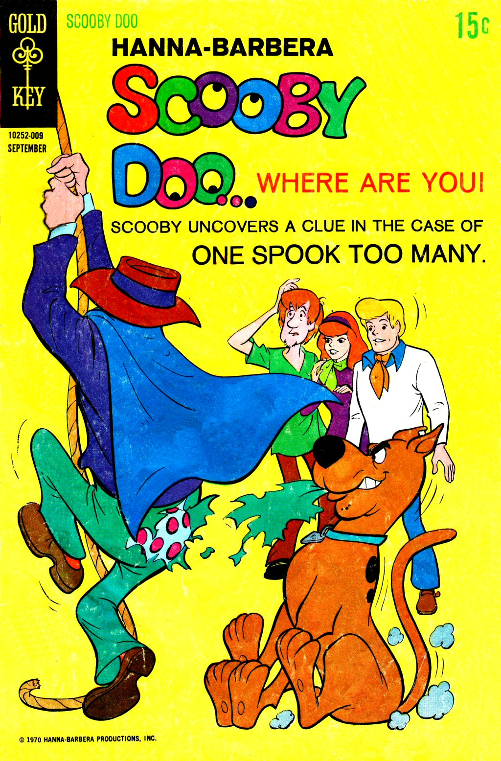 Read online Scooby-Doo... Where Are You! (1970) comic -  Issue #3 - 1