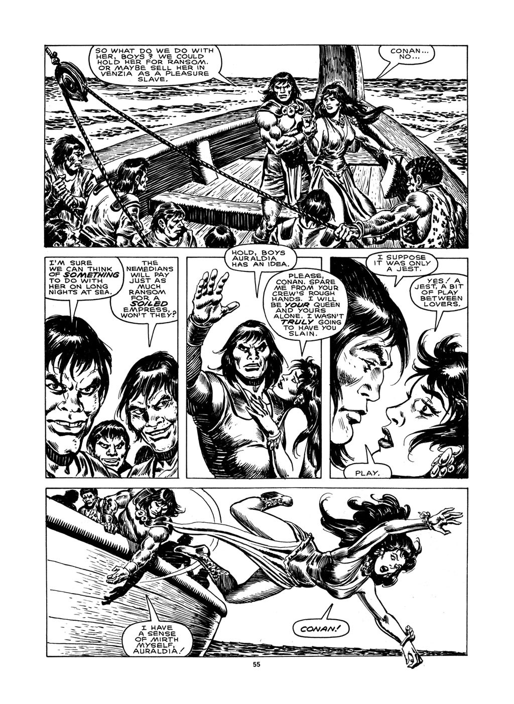 The Savage Sword Of Conan Issue #148 #149 - English 53