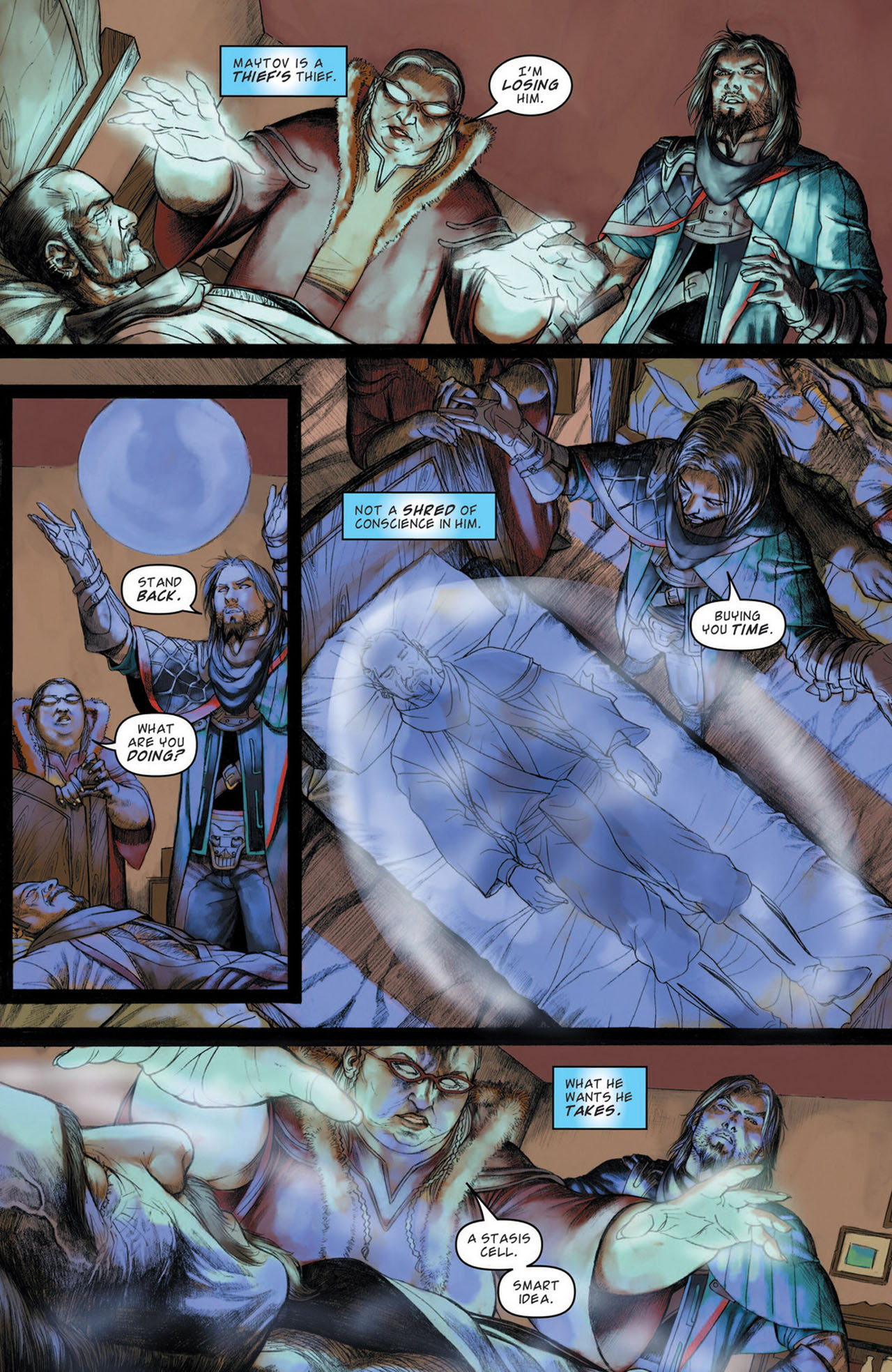Read online Magic: The Gathering--Path of Vengeance comic -  Issue #1 - 6