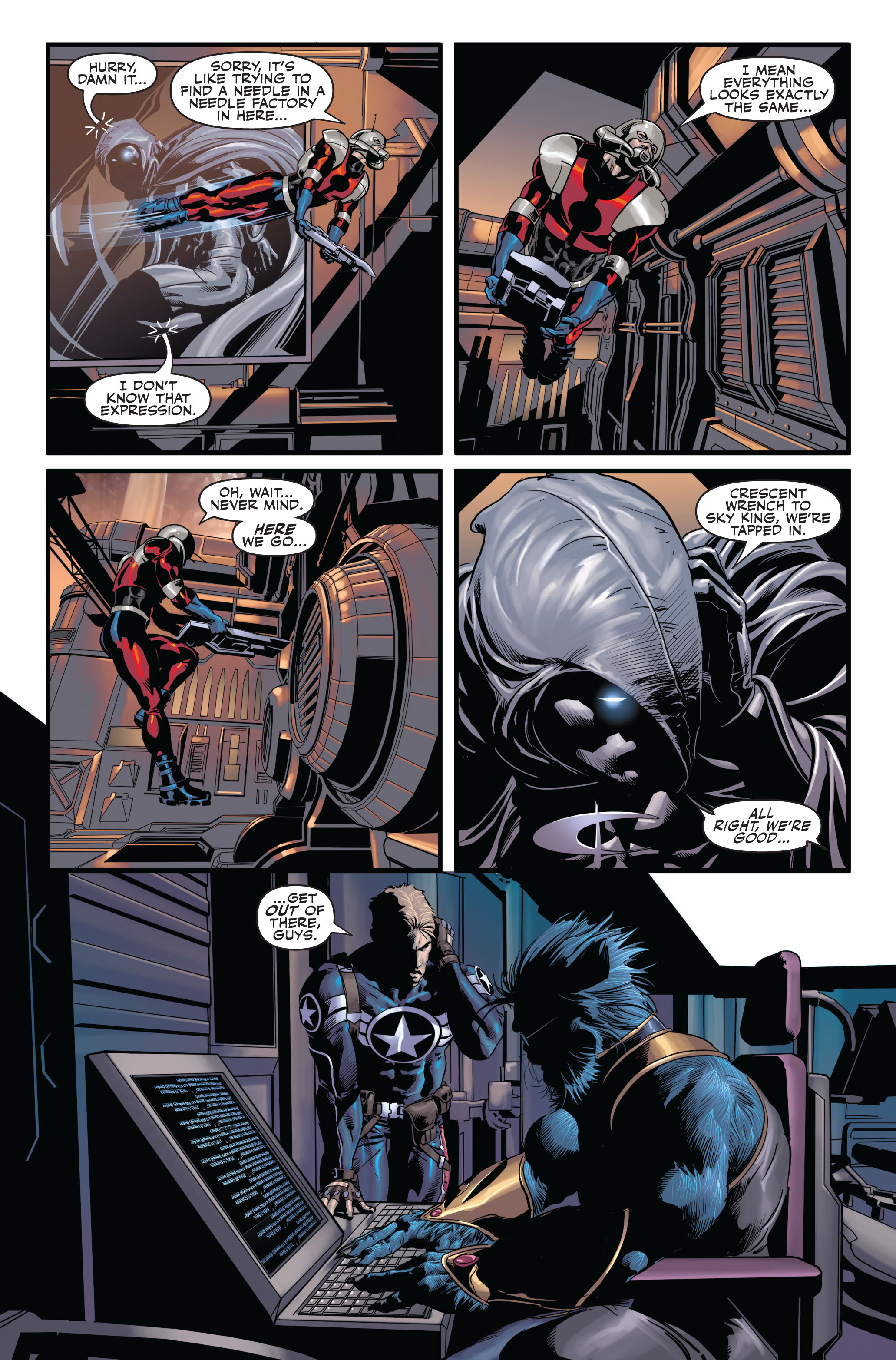 Read online Secret Avengers (2010) comic -  Issue #1 - 16