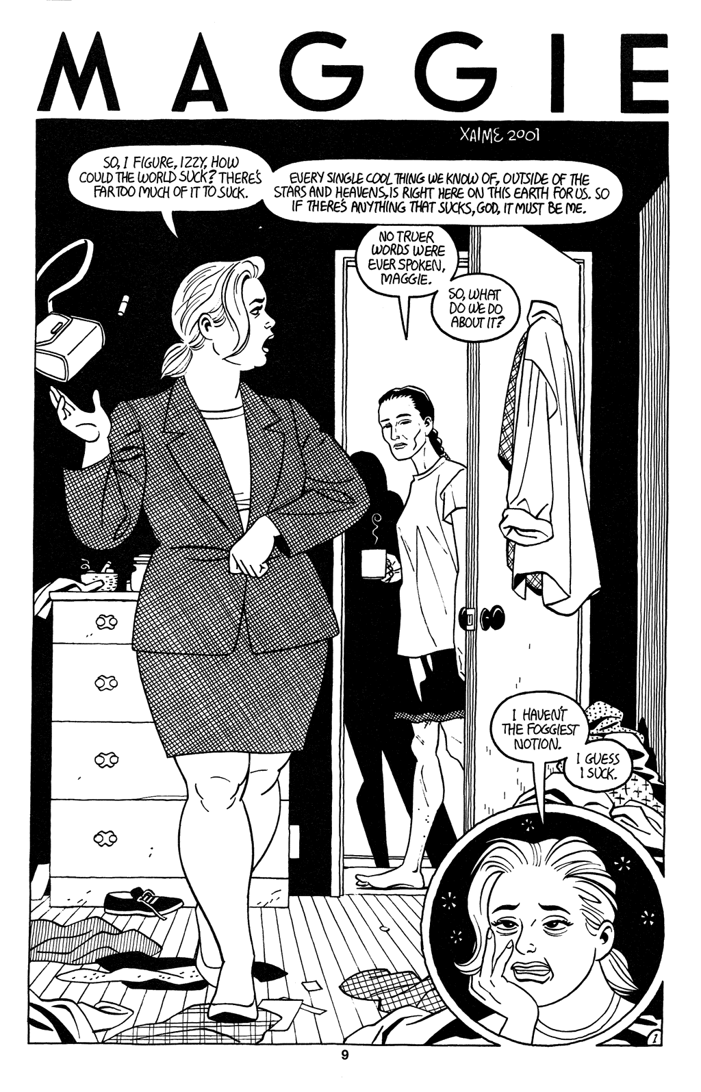 Read online Love and Rockets (2001) comic -  Issue #2 - 11